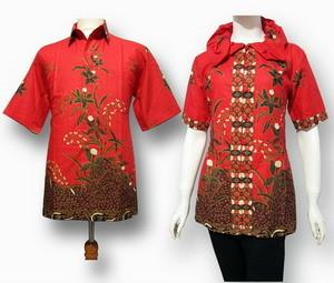 Baju Seragam Kerja Batik untuk Kantor Modern