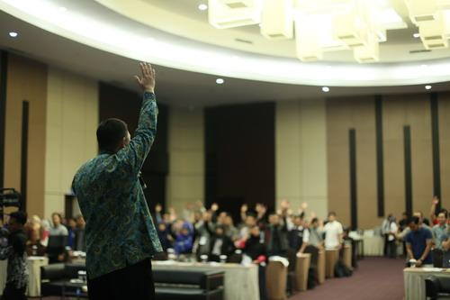 Kelas Manajemen Keuangan Bekraf bersama Hari 'Soul' Putra, Motivasi Pelaku Ekraf Kembangkan Usaha