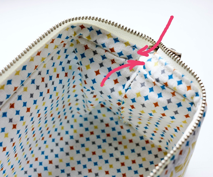 Cosmetic Bag with a frame. Tutorial.