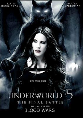 Underworld Blood Wars 2016 Dual Audio CAMRip 550mb