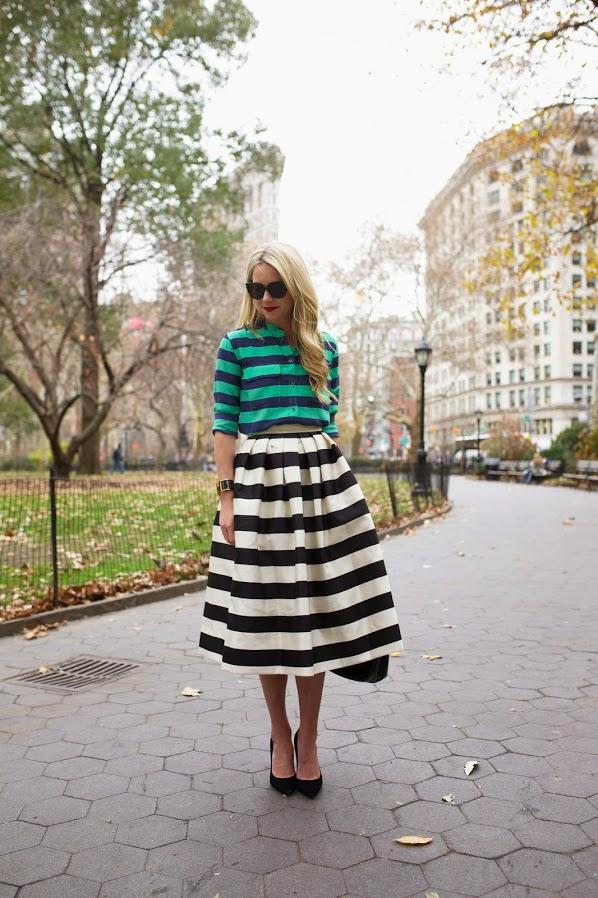 saia, saias, modelos de saias, Skirts, moda feminina, Roupas da moda, moda, comprar roupas femininas, lojas de roupas online, comprar saia, modelos de saia, saia listrada, camisa feminina listrada, blog de moda