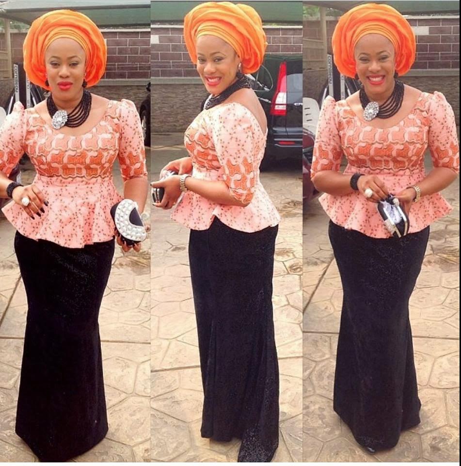 Ghana lace dress styles  olubunmi adeware topy on Pinterest