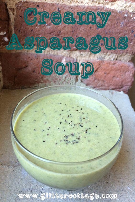 Trisha Yearwood's Creamy Asparagus Soup