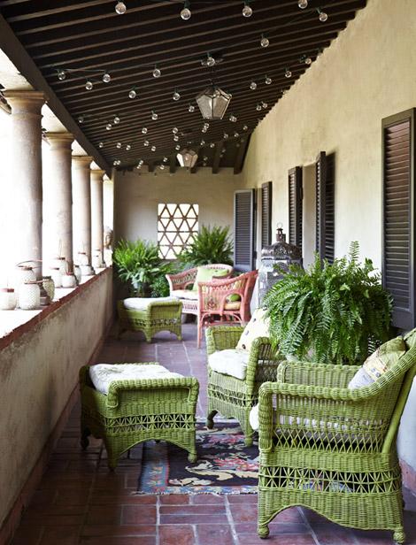 Hydrangea Hill Cottage Wicker Furniture