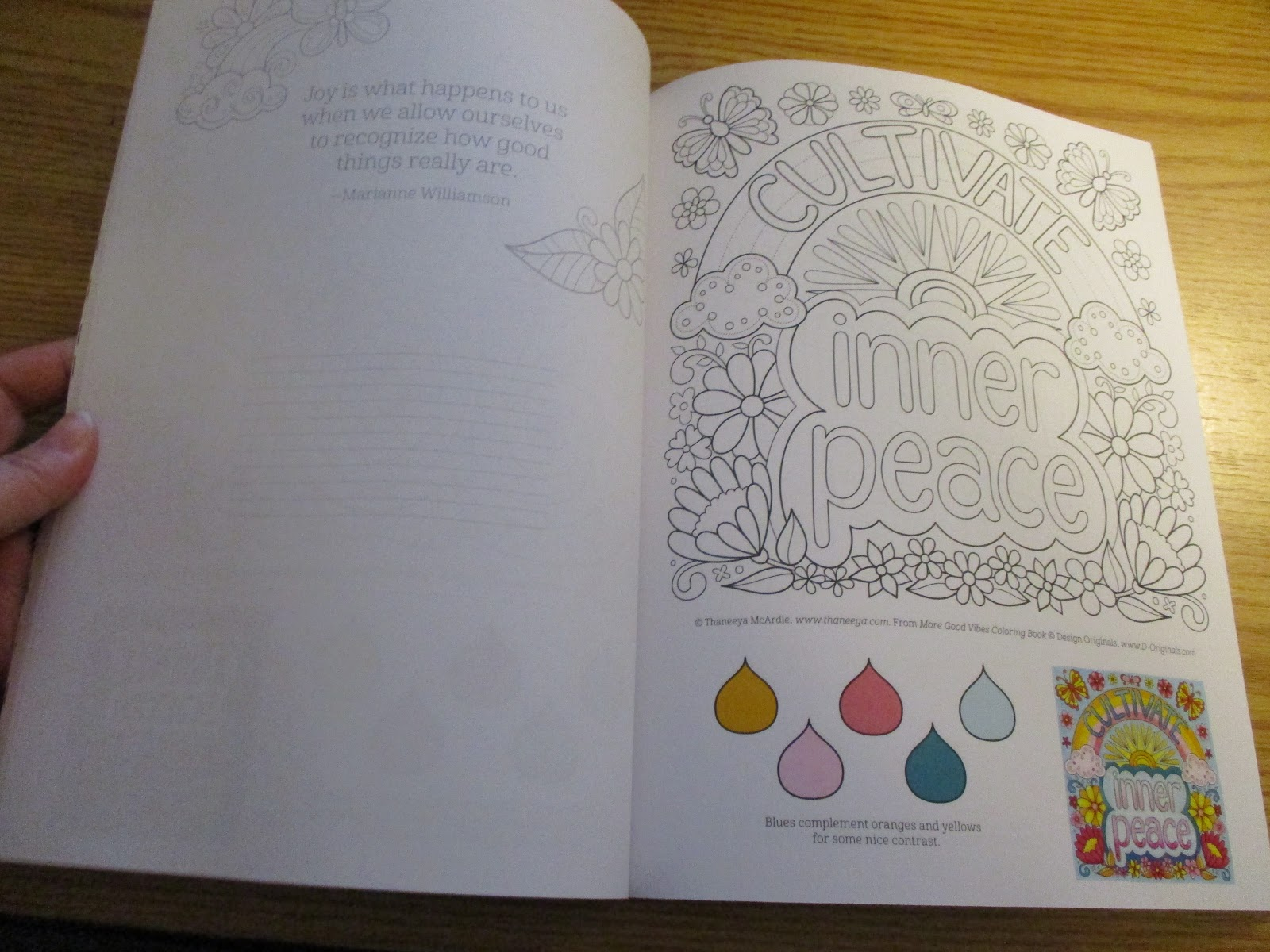 Missys Product Reviews More Good Vibes Coloring Book By Thaneeya