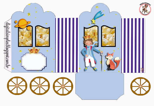 The Little Prince, Free Printable Princes Coach Box