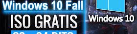 Descargar ISO Windows 10 Fall Creators 32 y 64 BITS Gratis