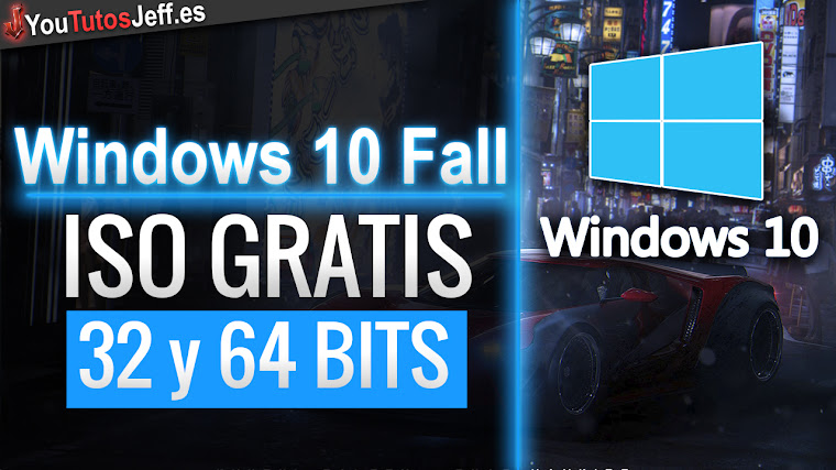 Descargar ISO Windows 10 Fall Creators 32 y 64 BITS Gratis