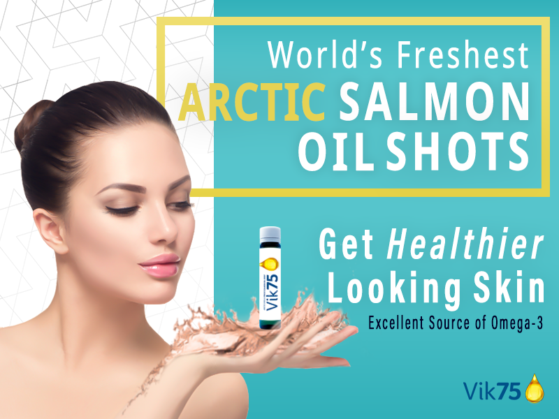 Vik75 - Salmon Oil Supplement - CPS