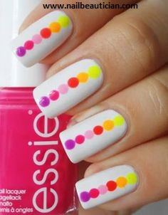 Nail art with toothpick