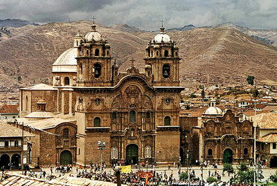 Cuzco as colonial city