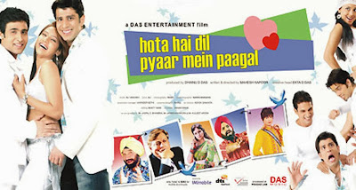Poster Of Bollywood Movie Hota Hai Dil Pyaar Mein Paagal (2006) 300MB Compressed Small Size Pc Movie Free Download worldfree4u.com