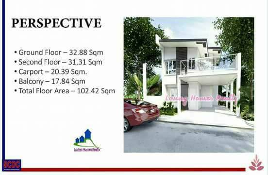 ROSE POINTE SUBDIVISION INSTALLMENT HOMES HOUSE AN DLOT SALE IN STA ROSA LAGUNA AFFORDABLE RENT TO OWN HOUSE floor area
