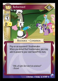 My Little Pony Reformed Canterlot Nights CCG Card