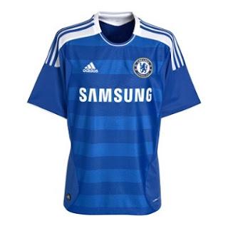 Jersey Kandang Chelsea Musim 2011/2012