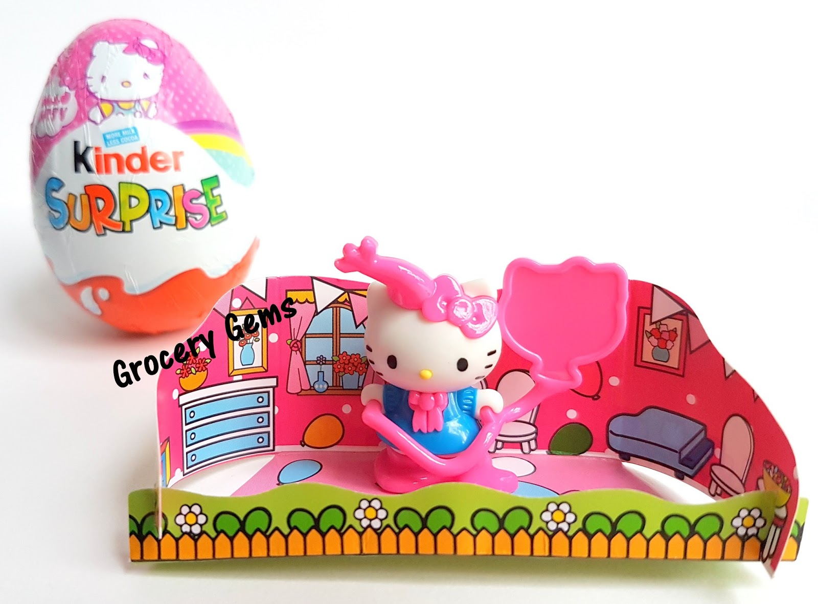 Kinder Egg Review Grocery Gems New Review Hello Kitty Kinder Surprise Eggs