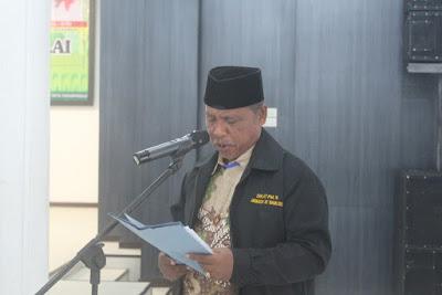 Kakankemenag Tanjungbalai Sampaikan Laporan Pemulangan Jemaah Haji