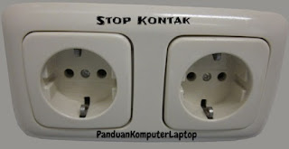 stop kontak komputer