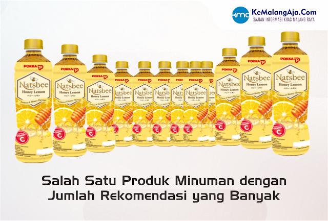 salah satu produk minuman dengan jumlah atau tingkat rekomendasi yang banyak