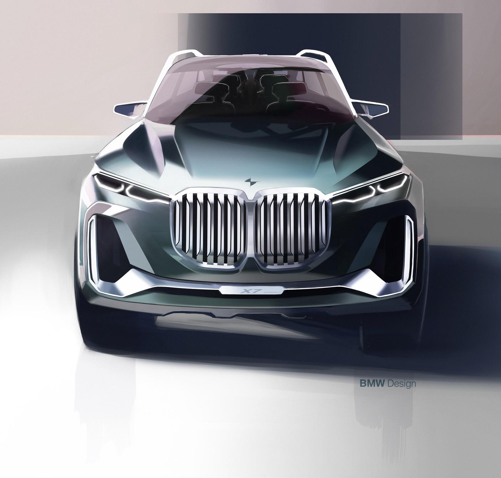 Bmw X7 M Series: BMW Concept X7 IPerformance Is A 7-Series SUV [40 Pics