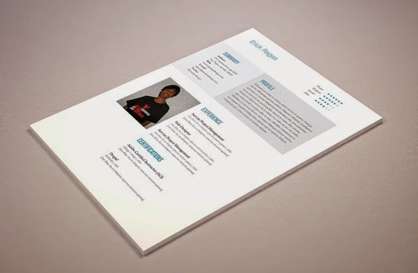 free indesign resume template 1 free indesign templates download