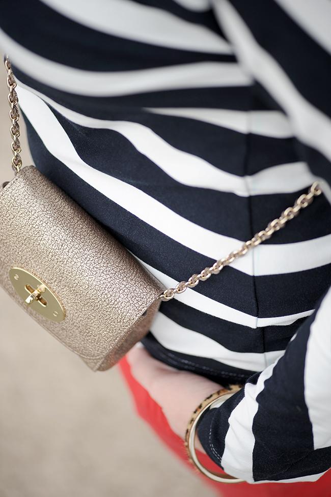 Burda style, stripes, shirt, red, Prada, Mulberry, Lily