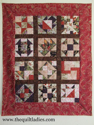 December Quilt Patterns of the Month tutorial