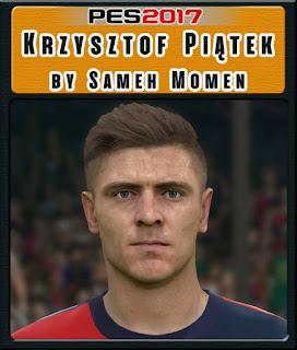 PES 2017 Faces Krzysztof Piątek by Sameh Momen