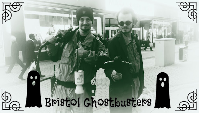 Bristol Ghostbusters fundraising in Bristol