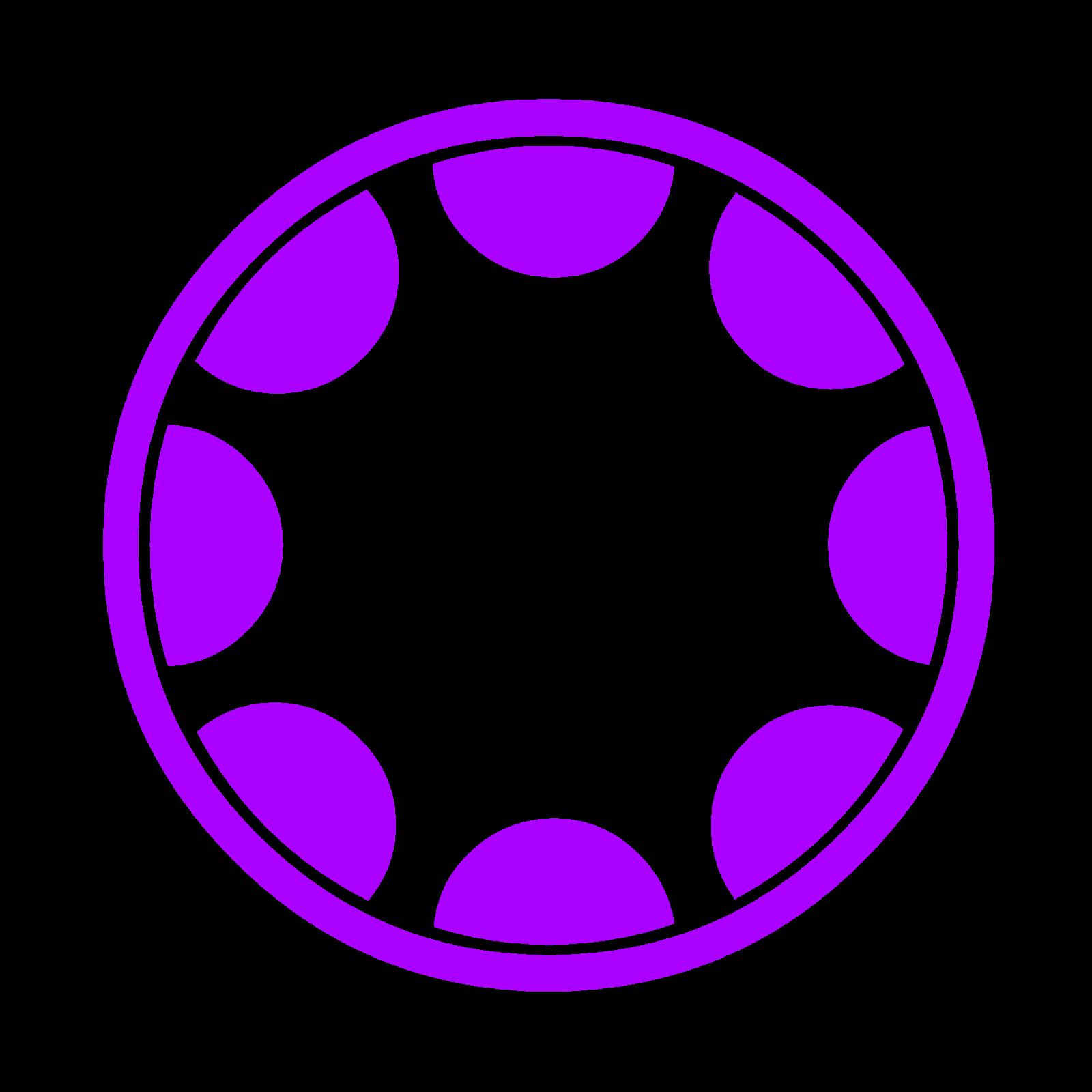 اشكال دائرية للتصميم Png