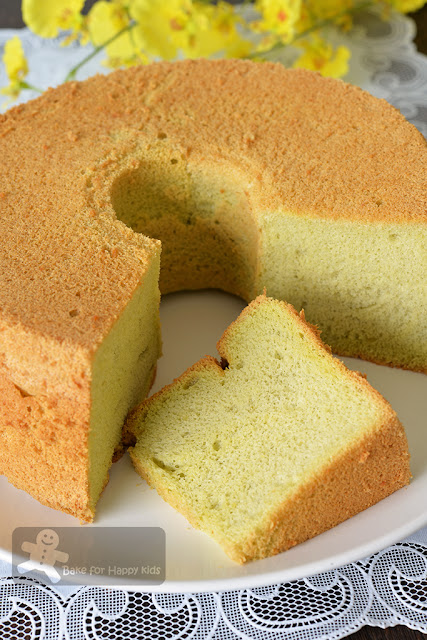 bengawan solo pandan chiffon cake