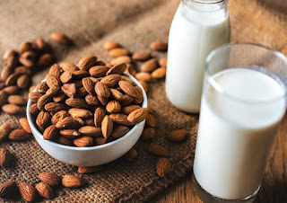 Almonds milk for low blood pressure