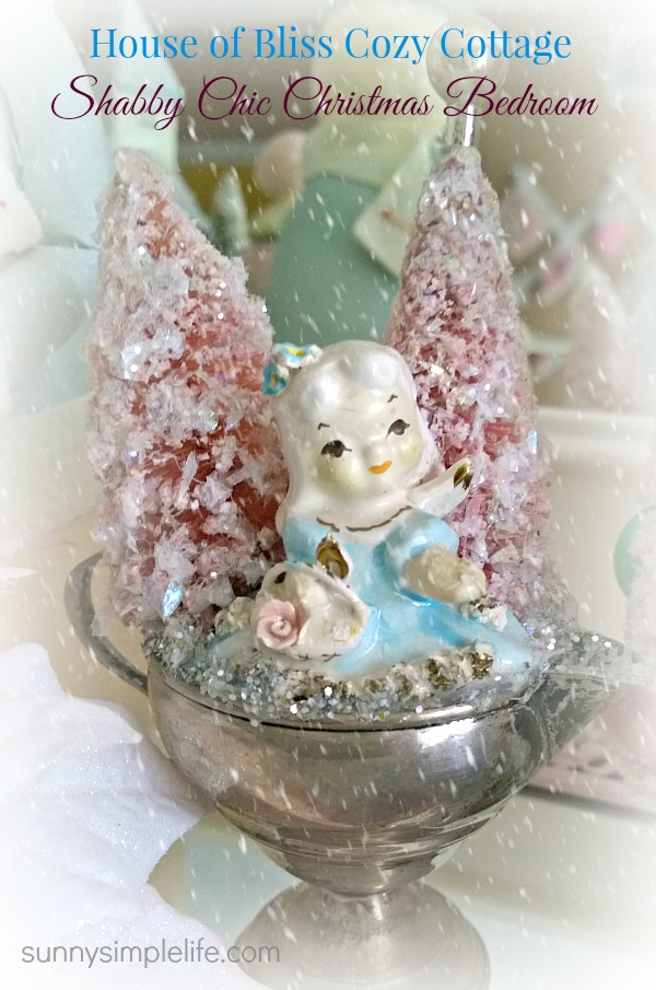 vintage silver christmas - Chic Christmas Decorations