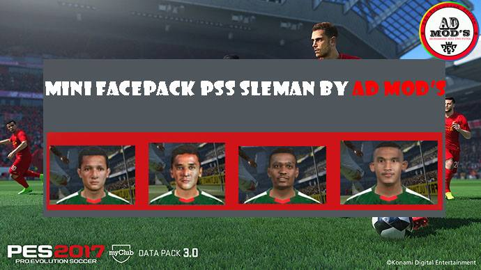 PES 2017 Facepack Pss sleman v1 for ipatch by AD Mod's