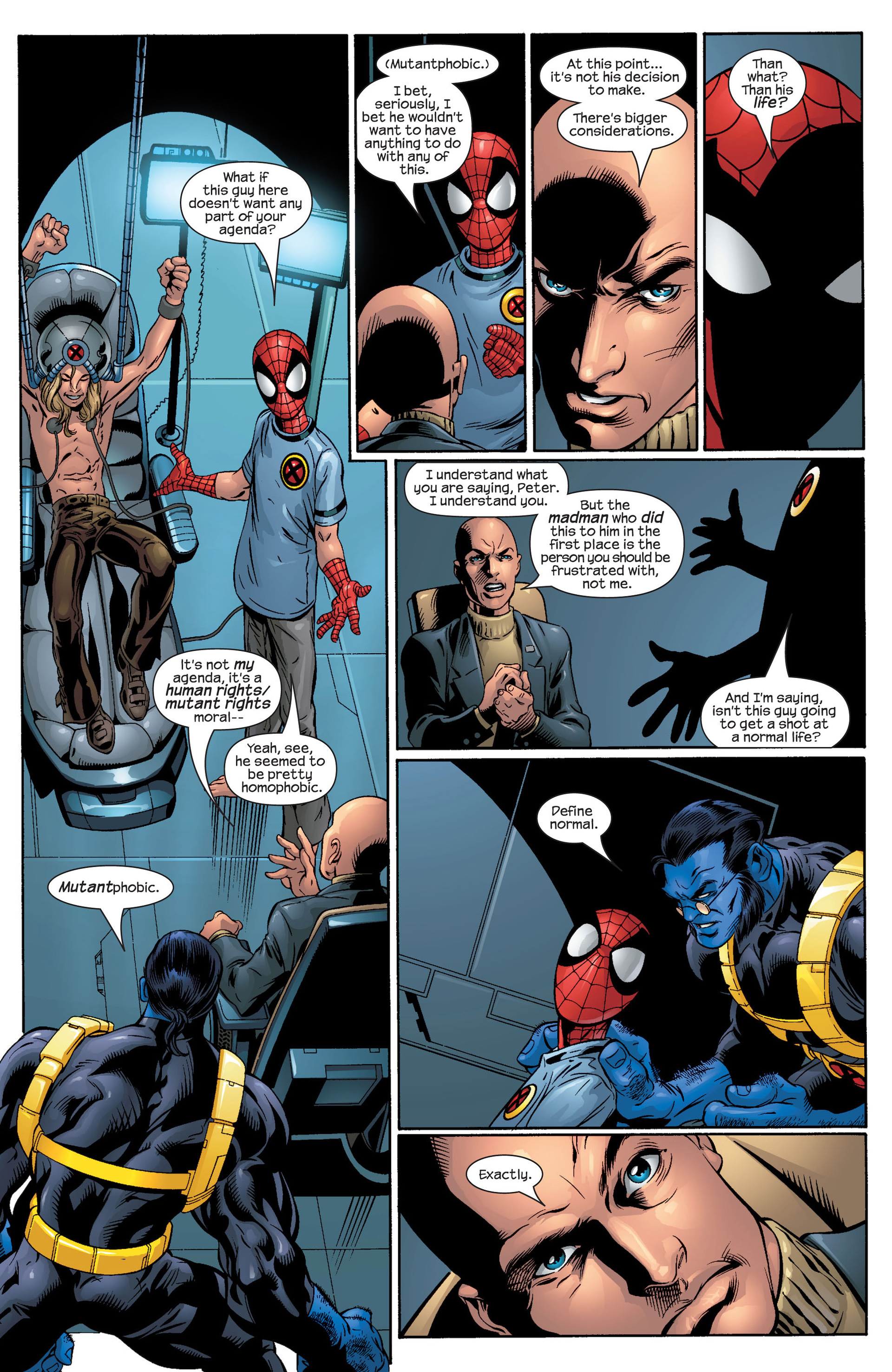 Read online Ultimate Spider-Man (2000) comic -  Issue #44 - 18