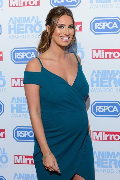 Pregnant Ferne McCann Flaunts Her Baby Bump