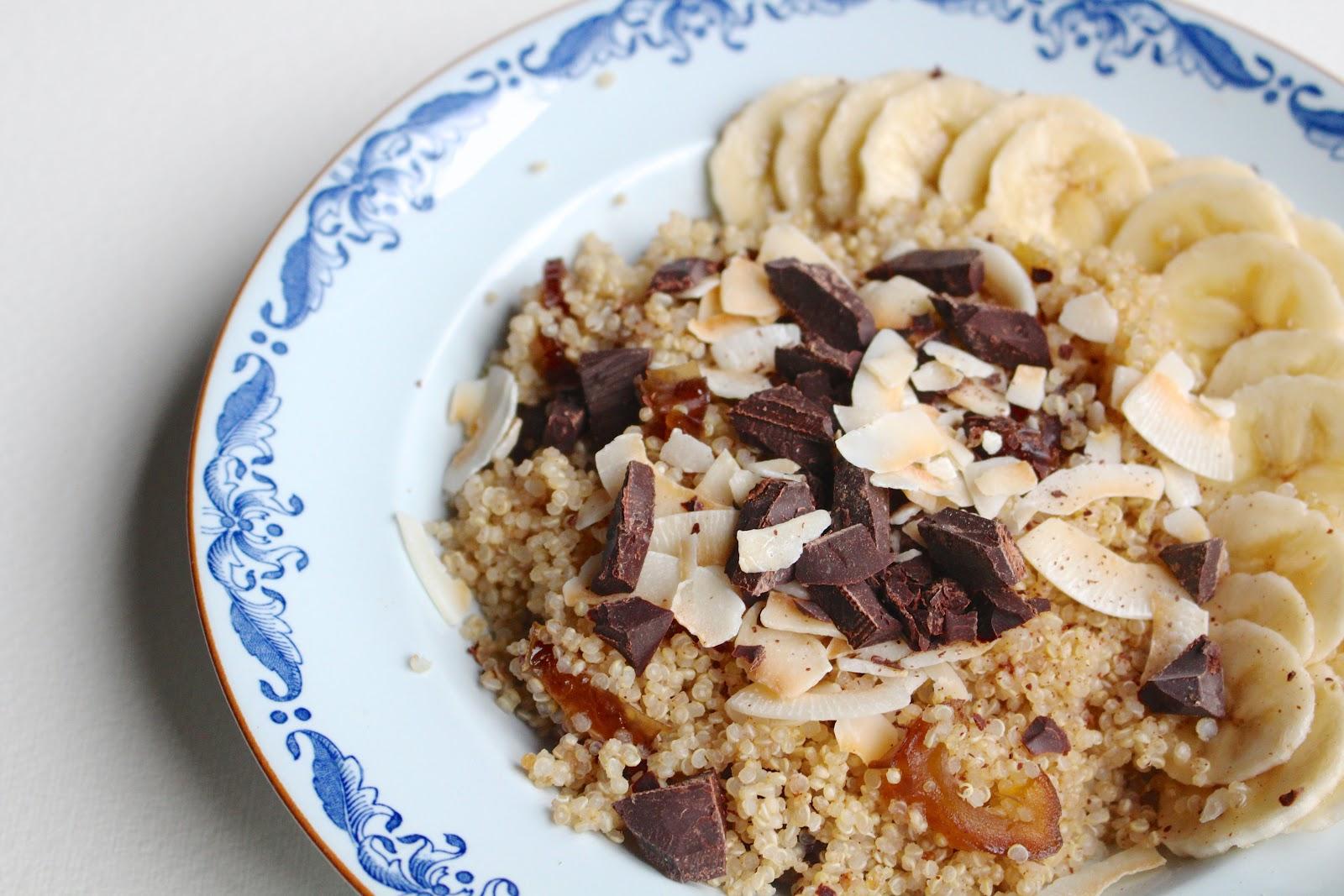 Quinoa porridge Federal Cafe recipe