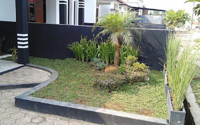 taman rumah minimalis sederhana
