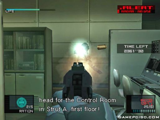 Metal Gear Solid 2 Substance: How to change the xbox controls ..