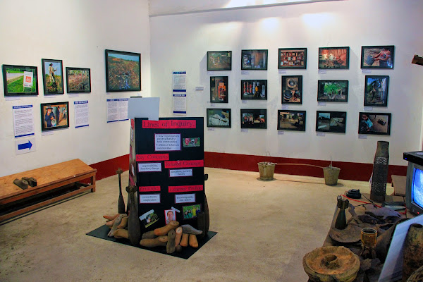Exhibition at COPE Vientiane