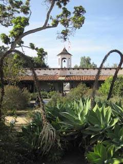 La Casa de Estudillo Garden.
