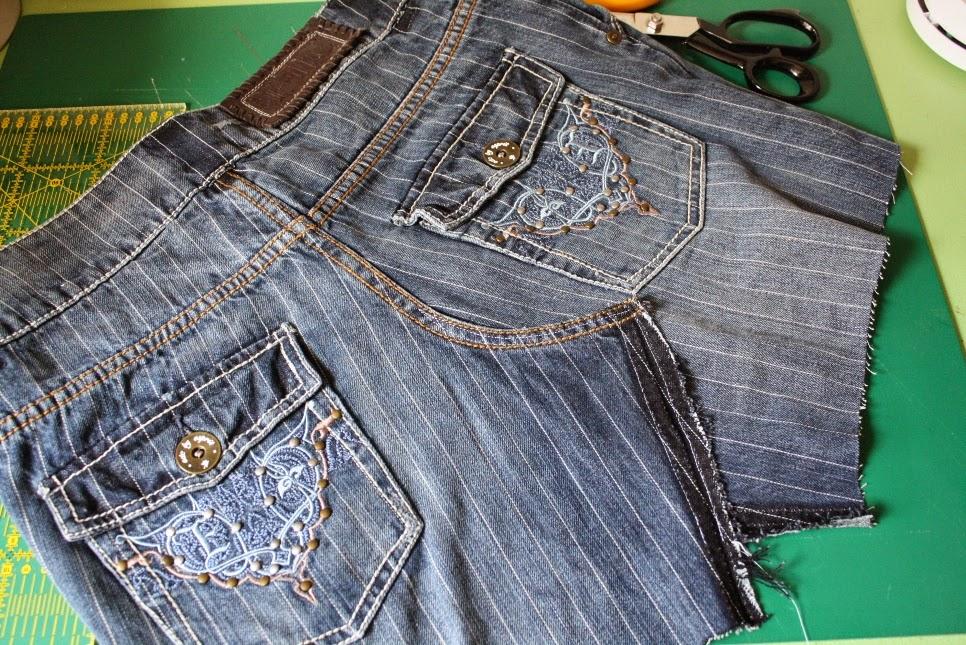 tasche alte jeans