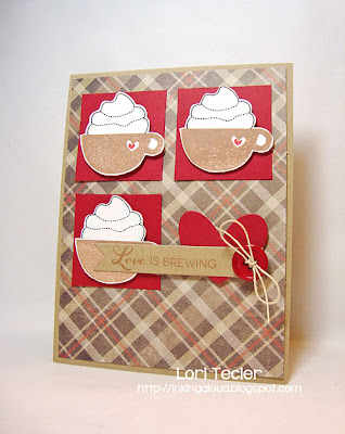 Designed by Lori Tecler-Inking Aloud-stamps and dies from Clear and Simple Stamps