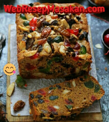 English Fruit Cake ncc, Resep english fruit cake,
