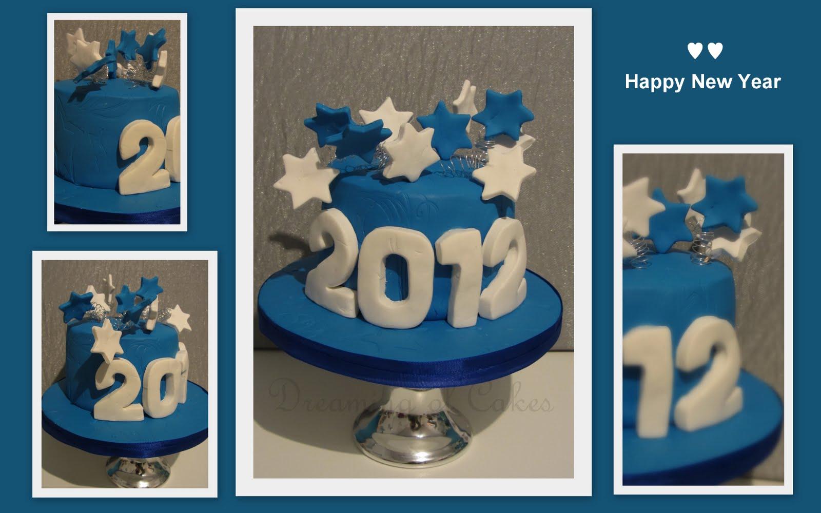 nieuw jaar taart Dreaming of Cakes: januari 2012 nieuw jaar taart