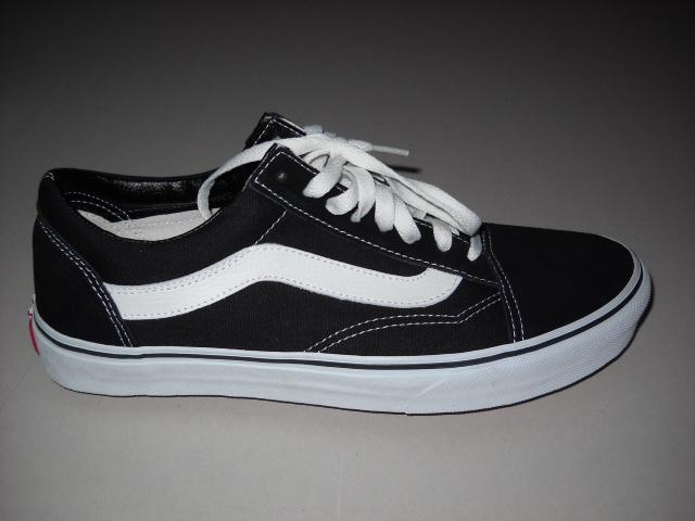 Navy blue vans shoes