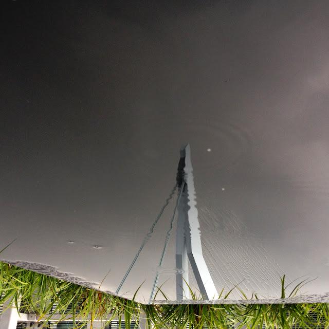 Erasmus Brug Rotterdam, weerspiegeling in water #eyespriration