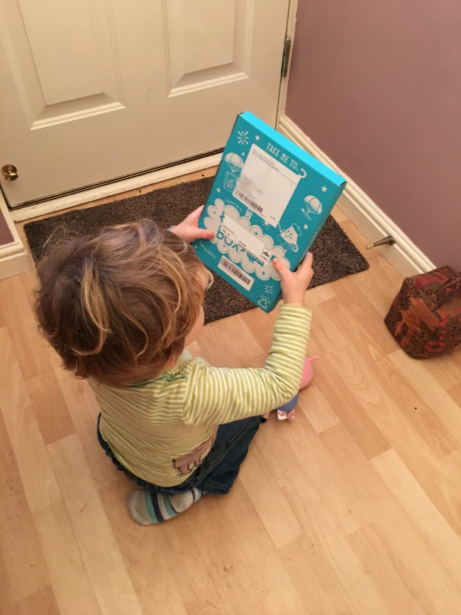 toucanBox-Subscription-Box-review-toddler-with-the-box