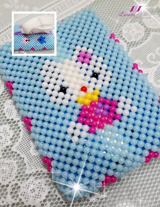 worldwide giveaway diy beaded hello kitty tissue case
