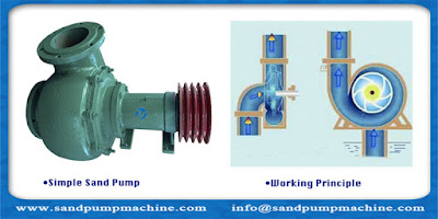 potable sand pump for river and lake